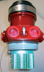 Optical flame detector